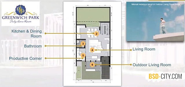 Aether BSD House Plan First Floor
