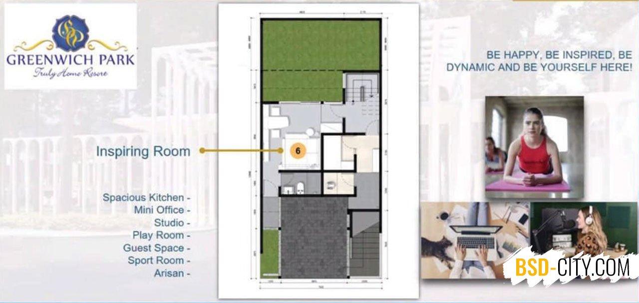 Aether BSD Ruang Inspirasi Lantai Dasar