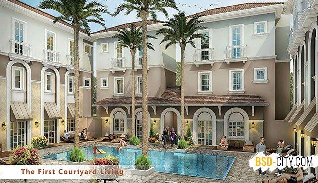 Alesha BSD Courtyard Living
