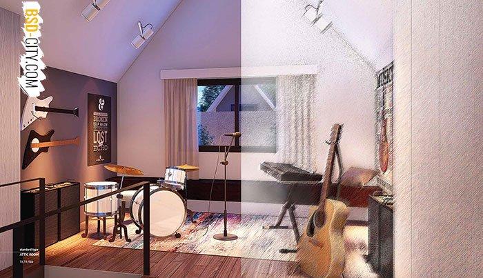Caelus BSD Attic Room