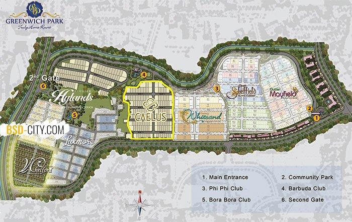 Caelus Site Plan