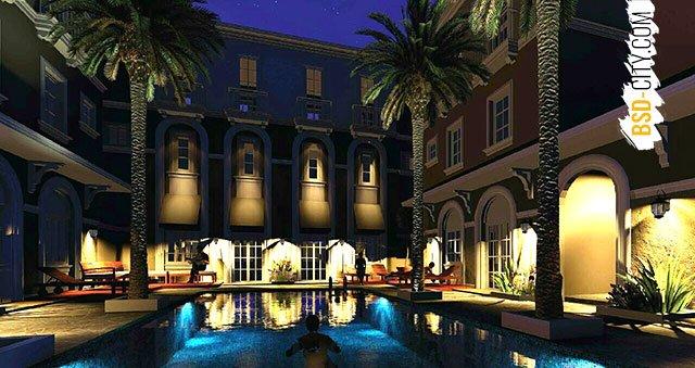 Courtyard Alesha BSD Night