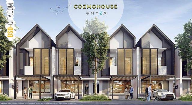 Cozmohouse @Myza BSD City