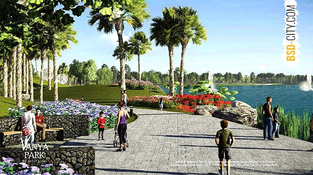Danau Vanya Park BSD