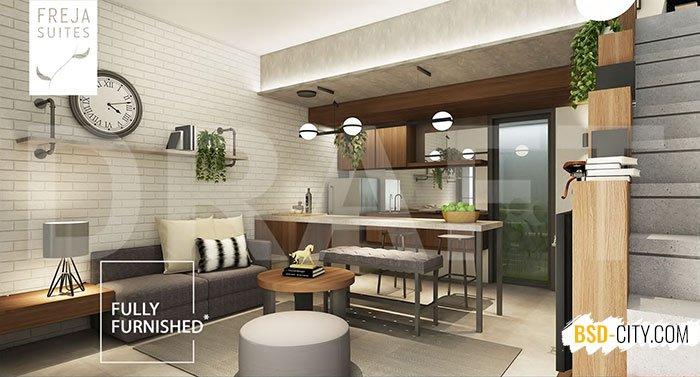 Dinning Room Freja House BSD Lebar 5