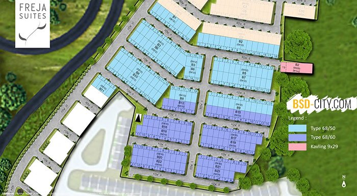 Freja House BSD Site Plan