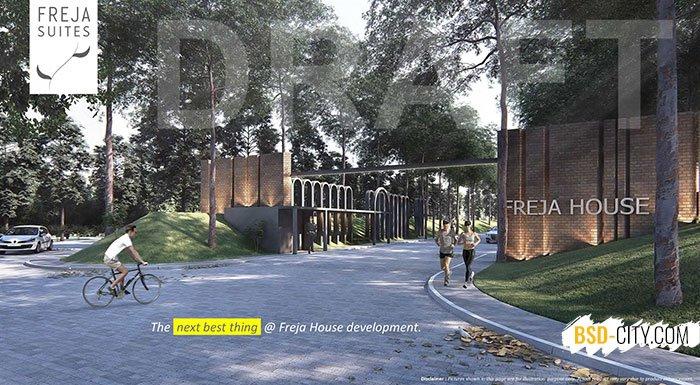 Gerbang Utama Freja House BSD