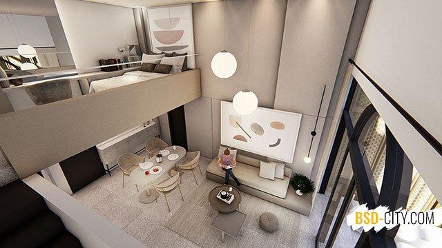 Interior Rumah Ruko Tabebuya BSD