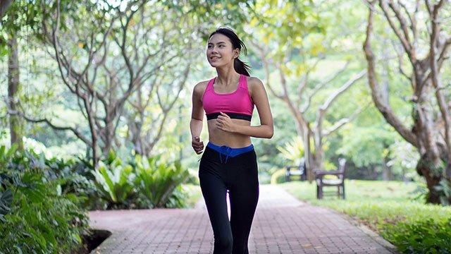 Jadeite Private Jogging Track
