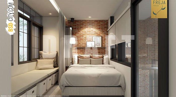 Kamar Tidur Utama Cluster Freja House BSD
