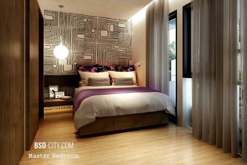 Kamar Utama Tabebuya BSD City