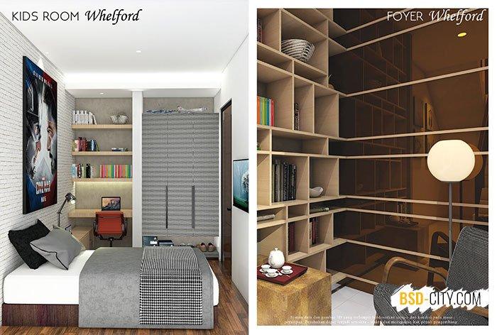 Kids Room Foyer Whelford BSD