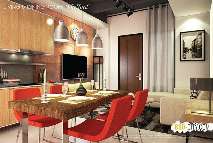 Living Dining Room Whelford BSD