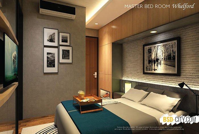 Master Bed Room Whelford BSD