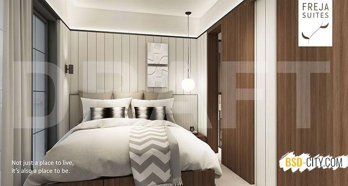 Master Bedroom Freja House BSD Lebar 5
