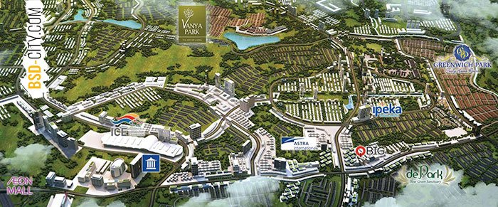 Master Plan Vanya Park BSD