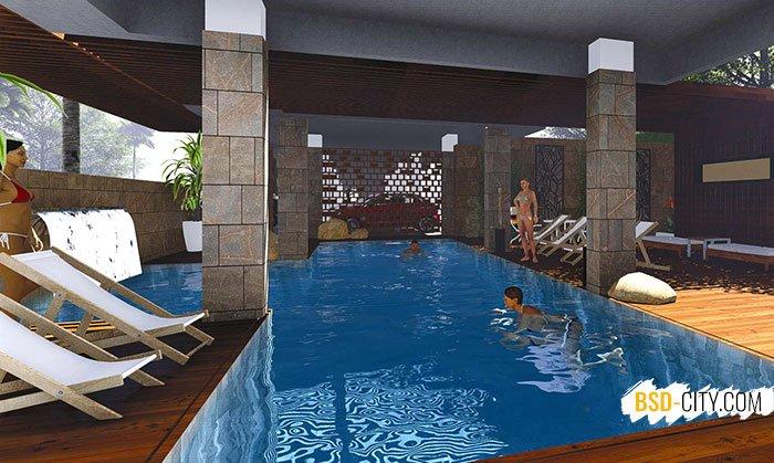 Private Pool Chalcedony Asatti BSD