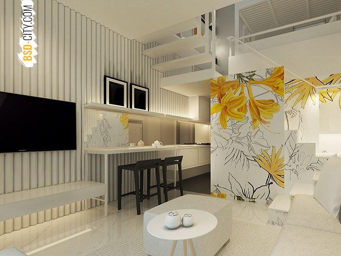 Ruang Keluarga Inspirahaus Tabebuya BSD