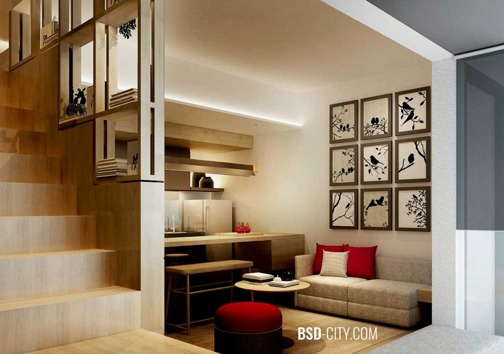 Ruang Keluarga Tabebuya BSD Tahap 3