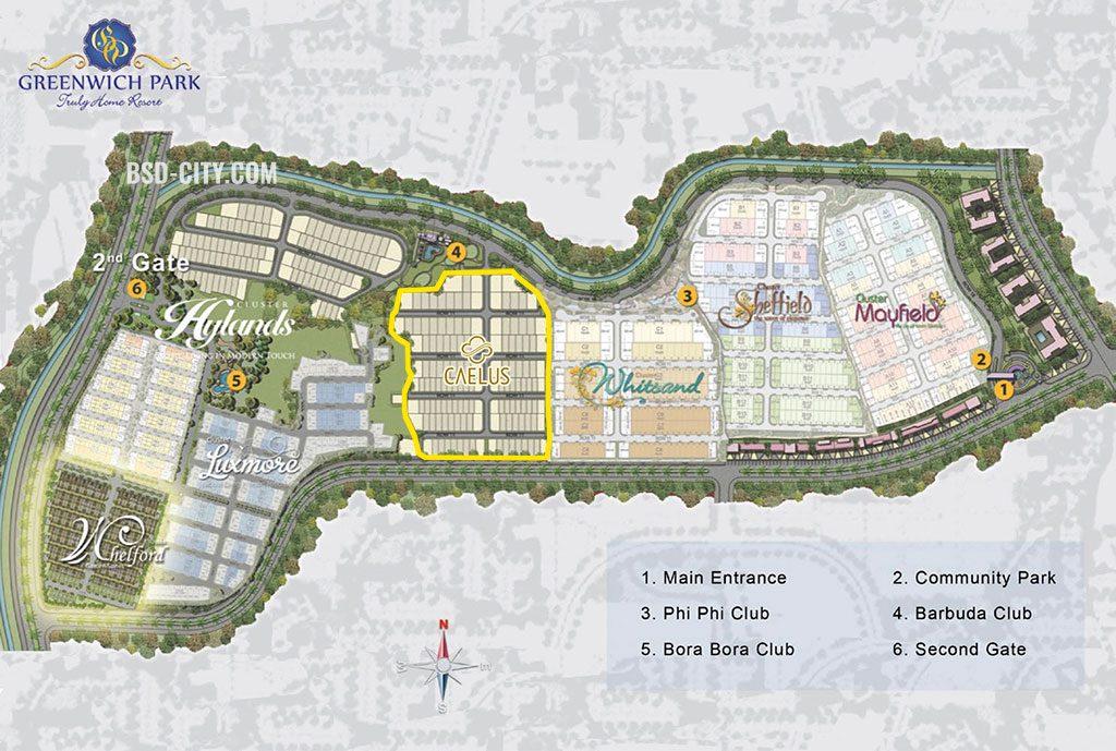 Site Plan Caelus