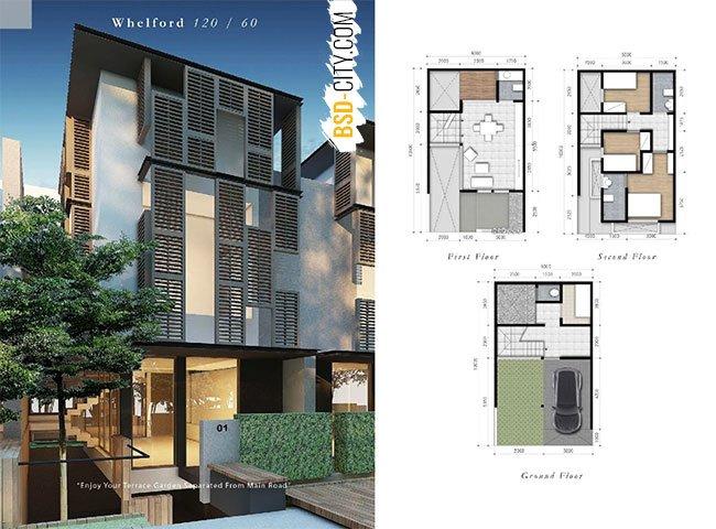 Whelford BSD Rumah 6X10